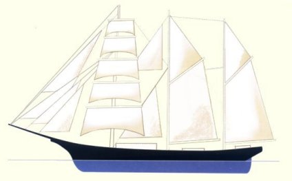 Barquentine diagram