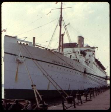 Empress of France ca. 1957