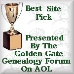 golden gate genealogy forum