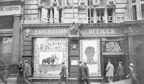 emigration office 1911
