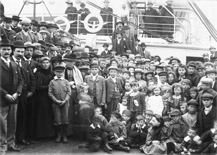 Welsh Emigrants 1902