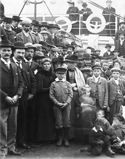 Welsh Emigrants departing June, 1902