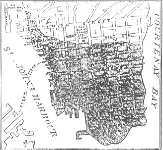st. john city map