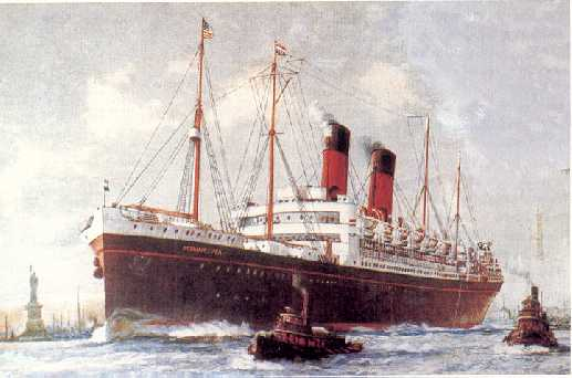 Zeeland, Red Star Line